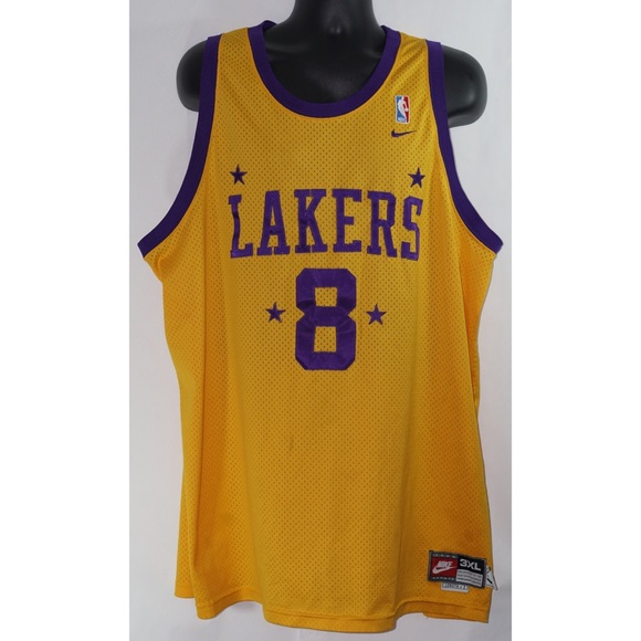Nike Kobe Bryant Lakers Jersey 3XL Throwback